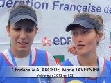 Critérium National Senior 2012 - Finales A FS2x, FS2- et FS1x