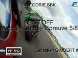 FSBK 2012 – Vidéo OBC – Magny-Cours – Le best off