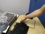 Azio Levetron Mech 5 Mechanical Gaming Keyboard Unboxing & First Look Linus Tech Tips