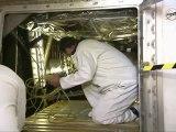 [STS-134] Shuttle Technicians Enter Endeavour's Aft