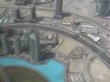 Burj Khalifa Dubai Video vom 124 Stock Burj Al Arab über Dubai höchster Turm der Welt