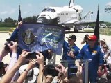 [STS-135] Crew Remarks to KSC Employees & NASA