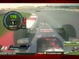 F1 2012 GP Malasia Battle Between Massa - Button and Ricciardo Onboard [HD]Engine Sounds