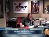 UFC on Fuel TV 4's James Te Huna on MMAjunkie.com Radio