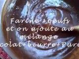 Gateau au chocolat ! (avec gag dedans )