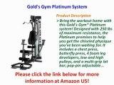 BEST BUY  Golds Gym Platinum System   Gold's Gym Platinum System UNBOXING