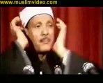 قراءة نادرة للشيخ عبدالباسط عبدالصمد سورة الأنفطار روعة جداااا…