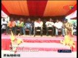 Christel Sassou N'Guesso lance les travaux de construction du siège du PCT à Oyo