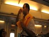 Tunesien Urlaub  Flug mit Tunis Air von Monastir nach Frankfurt am 04.03.2009