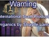 Shayne Lamas  'Lamas Organics' Skincare Ripoff Report | Complaints Reviews Scams Lawsuits Frauds Reported
