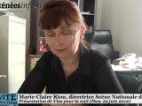 Hautes-Pyrénées Présentation de Visa pour la nuit 2012 (2 juillet 2012)