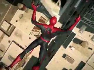 Présentation du jeu vidéo The Amazing Spider-Man sur Xbox 360