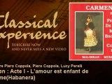 Georges Bizet : Carmen : Acte I - L'amour est enfant de bohème(Habanera) - ClassicalExperience