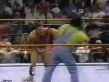 WWF Raw is War 4 7 97 - Owen Hart and British Bulldog vs The Godwins