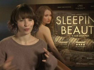 Emily Browning Interview -- Sleeping Beauty