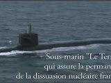 Visite du Président à bord du sous-marin le Terrible