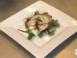 Cuisine : Tartine de chèvre chaud et sa salade nantaise