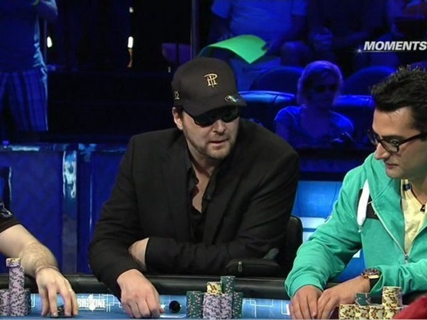 WSOP 2012: Event #55, buy-in $1 000 000 - The Big One for One Drop . Part 1