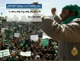إستراتيجية المعارك بين الثوار وكتائب القذافي