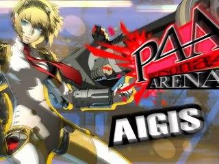 Gameplay Aigis de Persona 4 Arena