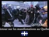 Alain Soral sur les manifestations au Québec