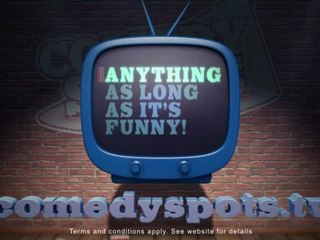 Comedy Spots Competition  | David Mitchell's Soapbox