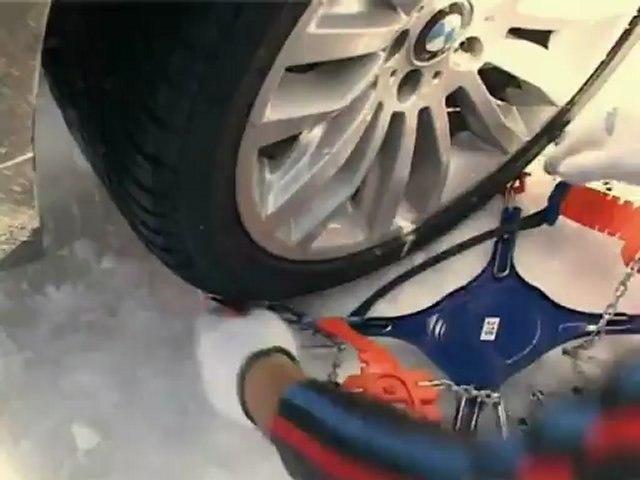 POLAIRE X10 : passager Snow Chain remove - Chaine à neige tourisme démontage