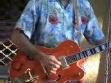 """""""CATFISH COMBO""""  le 6/07/2012 """"The Catfish Combo"""" est un trio rockabilly et early Rock'n'Roll inspirée du swing original des formation du début des '50's en concert à Salernes l"""