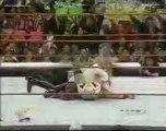 Jeff Jarrett and Owen Hart w Debra Vs Gangrel and Edge -22 3 99