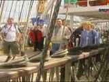 """Les Tonnerres de Brest 2012 : Brest 2004 : visite du """"Khersoners"""""""