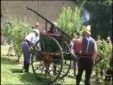 Pompe à Bras 1912 Pompiers de Firminy