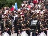 Hollande et Merkel fêtent l'amitié franco-allemande à Reims