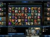 LoL : KOTH Millenium : Millenium vs x6tence - 3eme game 1/2