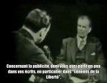 Aldous Huxley, auteur du Meilleur des Mondes - 18 Mai 1958
