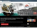 NCAA Football 13 Heisman Challenge Pack DLC Free