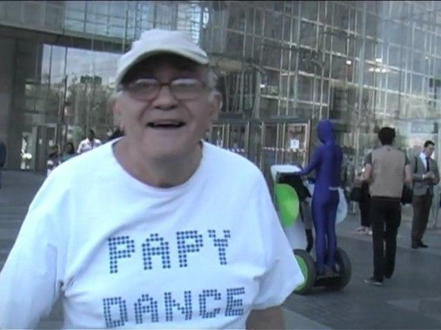PAPY DANCE, portrait réalisé par Cédric BARBIER
