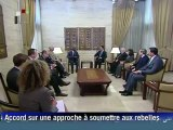 Syrie: rencontre entre Annan et Assad à Damas