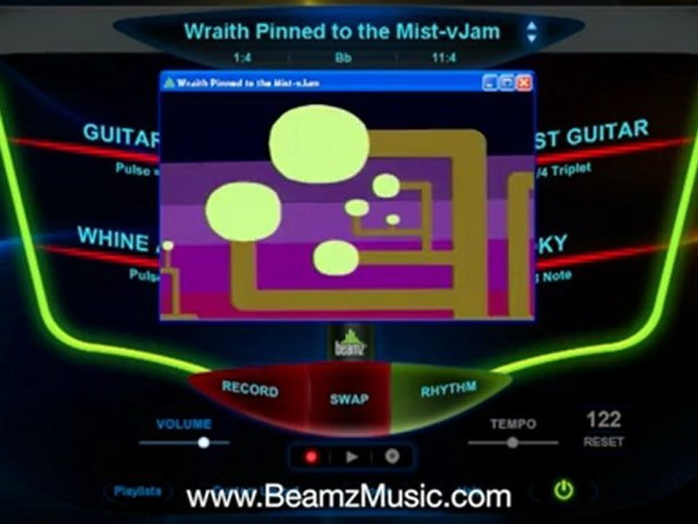5 Beamz Music - Video Jam Songs Beamz Music Library PLAY A MUSICAL INSTRUMENT? INTERACT W MUSIC VIDE