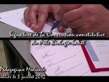 PRES'TV: SIGNATURE DE LA CONVENTION CONSTITUTIVE DU PÔLE BIOLOGIE-SANTÉ