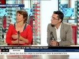 Olivier Dartigolles sur LCI - 09/07/2012
