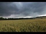 Violent orage avec un peu de grêle en Haute-Loire