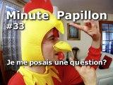 Minute Papillon #33 Je me posais une question ?