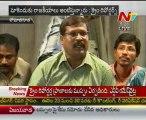 Media crime reporters fire on Sakshi Channel