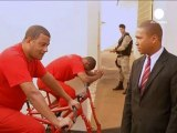 Brazil inmates cycle to freedom by generating electricity