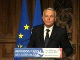 [ARCHIVE] Jean-Marc Ayrault, Premier ministre, lancement de la concertation - Refondons l'École de la République