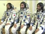 [ISS] Expedition 32 Suit Up & Fit Check Soyuz TMA-05M