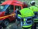 La Ciotat: exercice incendie de forêt pour les pompiers