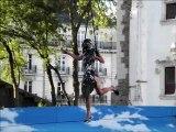 Royal de luxe Rue de la Chute. Royal de luxe Fall Street.