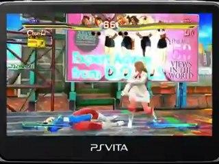 PS Vita Tekken Gameplay de Street Fighter X Tekken