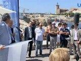 LCTV - Inauguration de la digue du bassin Berouard